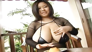 huge-chested asian crushes vegetables Thumb