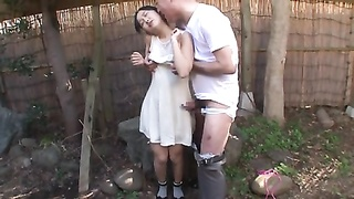 Japanese teenage  with ancient stud and numerous guy Bukkake Thumb