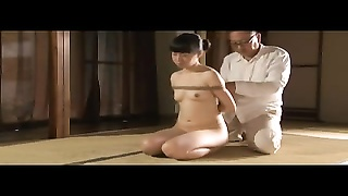 lovely young Japanese chick In bondage And ass-fuck  action Thumb