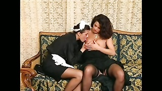 Funky hook-up  between maid and her boss Thumb