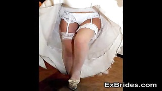 genuine Brides Upskirts! Thumb