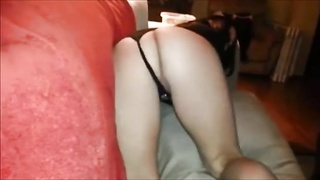 horny wifey  gets pounded on genuine homemade Thumb