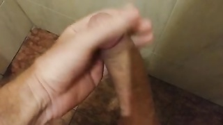 Public bathroom jizz flow Thumb