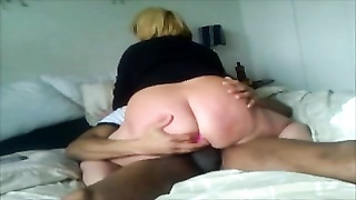 insatiable Cheating wifey visiting BBC after work and riding manmeat Thumb