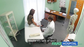 FakeHospital Spying on warm young stunner having special time Thumb