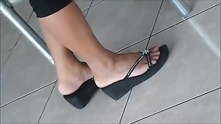 impersonal gorgeous Shoeplay Feet gams  Dipping Thumb