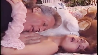 Randy West & Brunette in panties Thumb