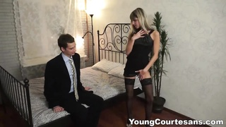 youthfull  Courtesans - Dressed up for a client Thumb