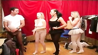 women and dude in pantyhose & stockings  wank and spunk ! Thumb