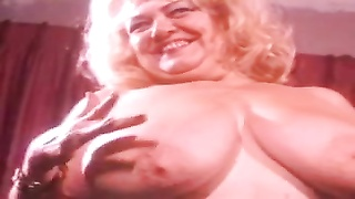 Vintage plump yellow-haired big Tittied mummy  Jennie Lee Thumb