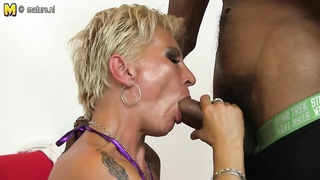 down thin mother takes youthfull  BBC Thumb