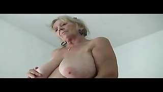 old lady Isabel molten fantastic 64yr old huge-titted boring Shows Porn movies  two Thumb