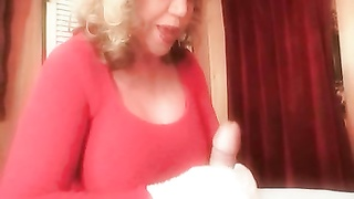 big Titted Mommy's dirty Talking masturbate Off Thumb