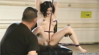 American bondage honey  CC Jolies electro bdsm in gross pain Thumb