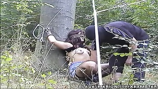 Collection of soiled wifey  gangbanged by strangers outdoors Thumb