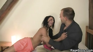 rough hook-up  with trampy girlfriend Thumb