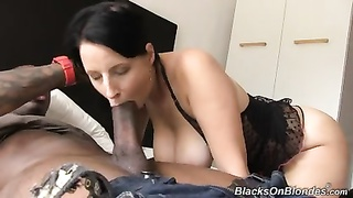 big-titted daughter Chrissy creampied by black fellow Thumb