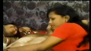 North Indian Prostitute lady getting Customer cum at hotel Thumb