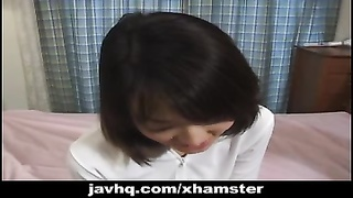 Japanese teenage  plumbed and tested  by two fledgling  gynos. Thumb