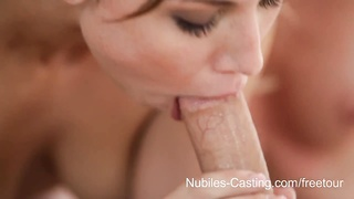 Nubiles Casting - legitimate  yr ancient hottie desperate to be a pornstar Thumb