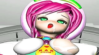 3D-Teen casual sub ! - insensible sprint - Monsters ravage Thumb