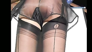 seductive 1940 black French Knickers Thumb