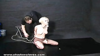 Cherry Torns yellow-haired bdsm and coarse insertions of dominated Thumb