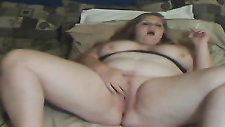 BBW smoking playing - negrofloripa Thumb