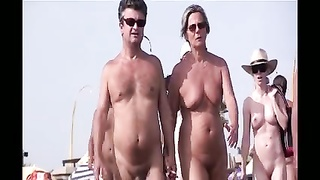 French nudist beach Cap d'Agde people walking nude 06 Thumb