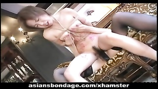 crazy lesbo bdsm activity with warm Japanese chicks Thumb