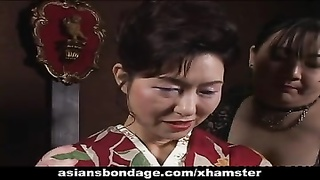Japanese milf in kimono gets trussed up Thumb