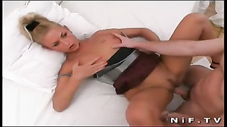 nasty french blondie gets hard ass-fuck  banged Thumb
