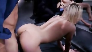 Orgy of lesson with a brilliant chinese bombshell. A. Thumb