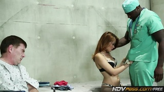 HDVPass Kim Blossom Gets pounded by dark guy Thumb