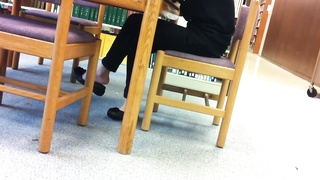 impersonal chinese Library Shoeplay Feet draping Flats Pt two Thumb