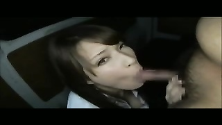 youthfull  sweetheart  swallows and youthfull  oriental gets vast facial Thumb