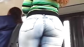 spectacular expressionless denims booty Thumb