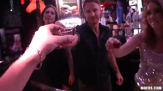 Bartenders film loopy sex tape Thumb