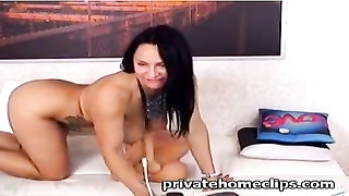 mother i'd savor to penetrate in cam bonks her holes with fucktoys Thumb