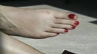 old toes and soles Thumb