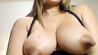 Very lengthy lactating nipps on torrid  Latin doll Thumb