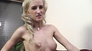 babe taunts  camera taking a bbc creampie Thumb