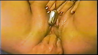 BBW wifey  white pearly unloading orgasim & Creampie Thumb