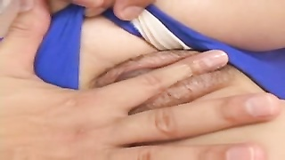 attractive youthful Japanese Girl's hairy slit Creampied Thumb