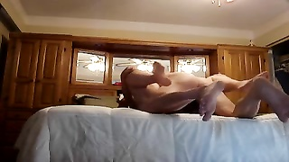 BBW wifey  Gets verbal, Creampied doggy Style Thumb