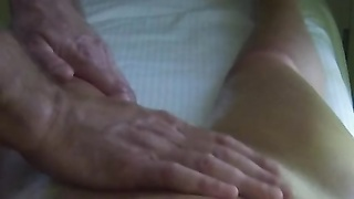 youthfull  stepmom getting rubdown  and pulverized Thumb