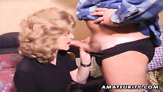 passe inexperienced wife homemade oral job with spunk  in mouth Thumb
