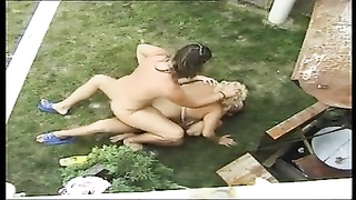 HUNGARIAN BBW granny LOTTA poked  BY two  dudes Thumb