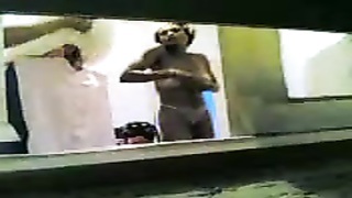 Anita pPania and Tsila Mavri Greek window sneaaking wifey  showing boobies butt and twat Thumb