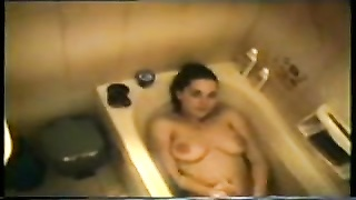Dutch female in a greek bath Thumb
